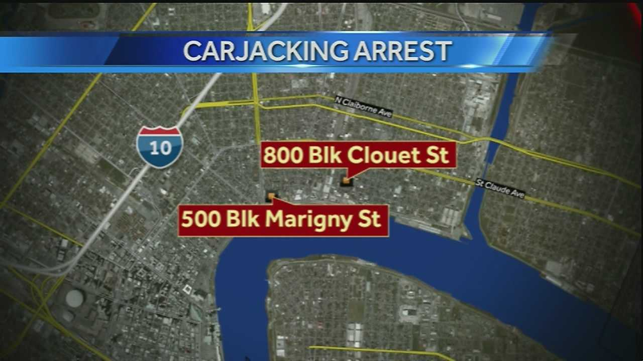 One suspect in Saturday carjackings arrested