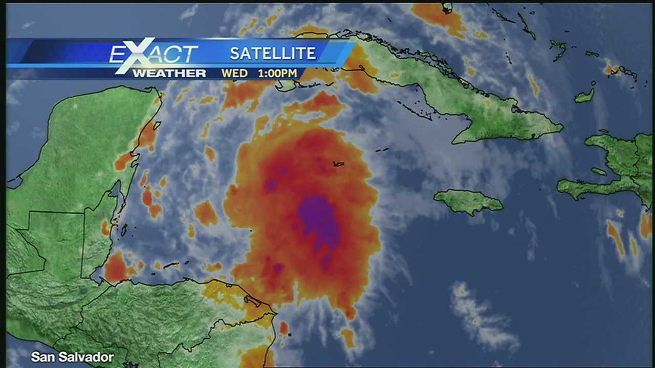 Aug. 14 afternoon tropical weather update