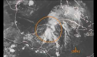 Invest 92L is currently in the Caribbean and weakened in its chances of further development into a tropical cyclone.