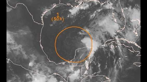 Caribbean system in gulf at 50 percent Friday am.jpg