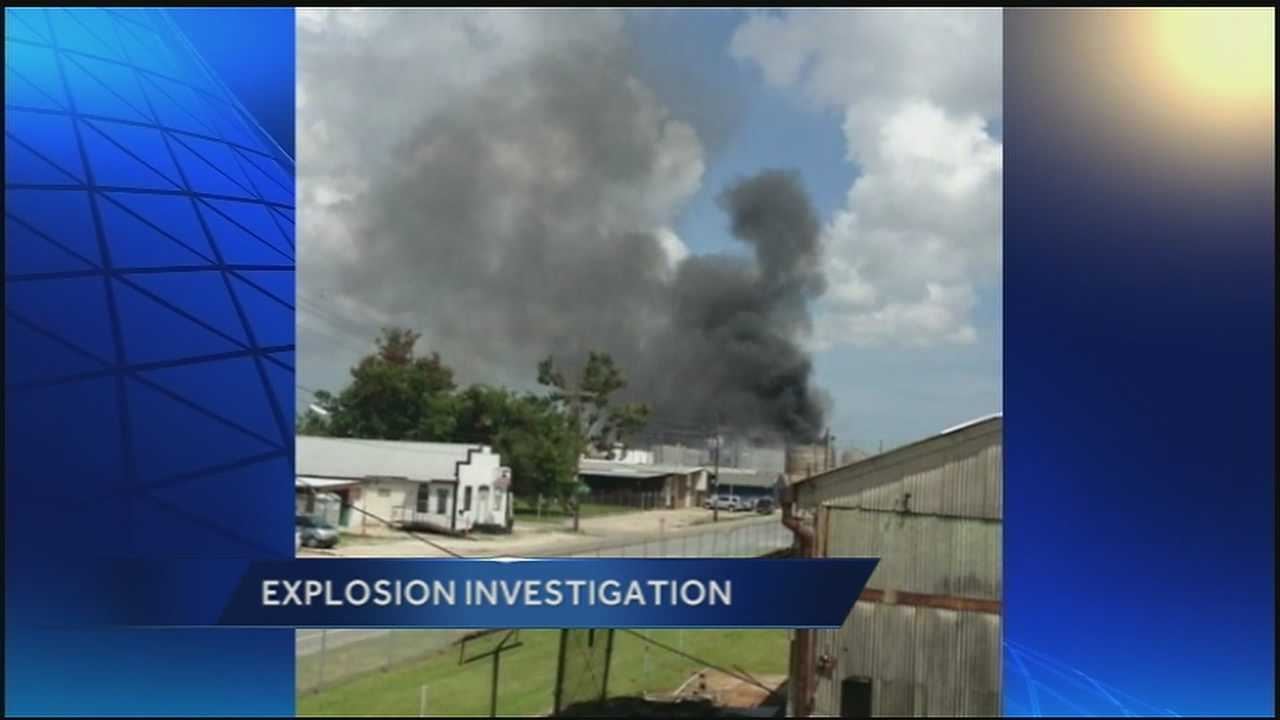 Witnesses react to explosion that rocked Harvey
