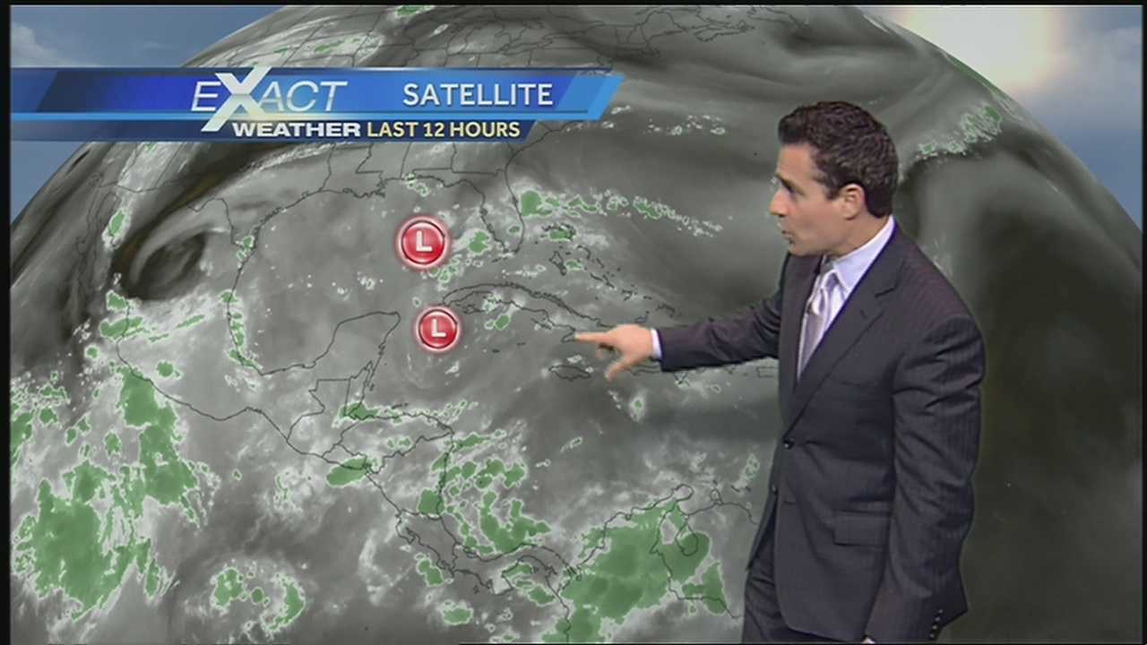 Get the latest on the tropics from WDSU Exact Weather meteorologist Jay Galle.