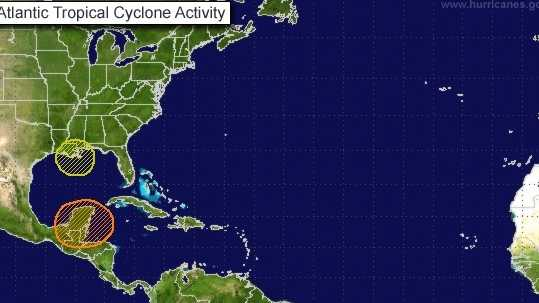NHC tropics early afternoon 8-24-13
