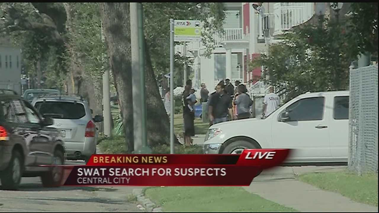 NOPD, SWAT search for suspects in toddler's fatal shooting