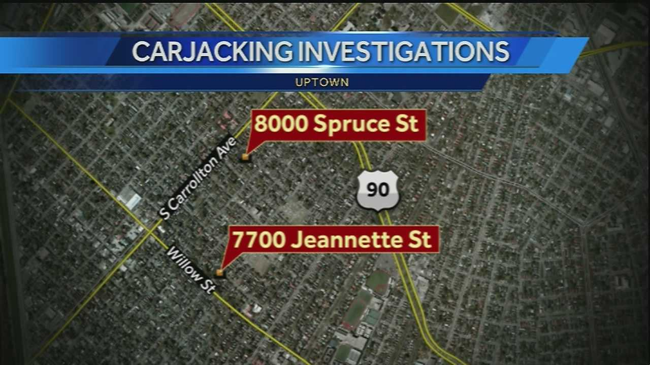 2 carjackings within 24 hours near Tulane scare students, residents