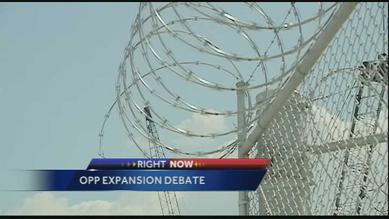 A debate is underway when it comes to building a third facility at the new Orleans Parish Prison.