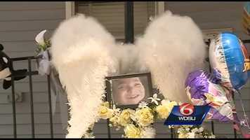 Aug. 2012: A community gathered one year after Lirette was killed.