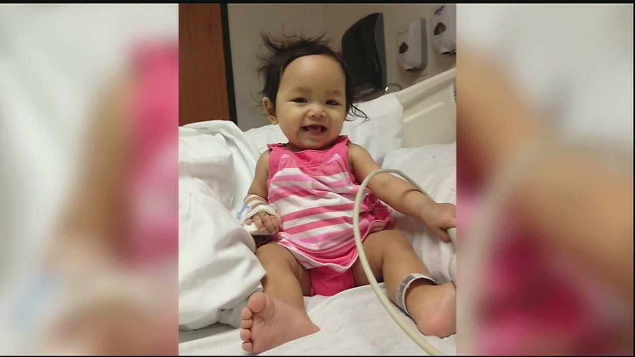 Child suffering from blood disorder needs transfusions to survive