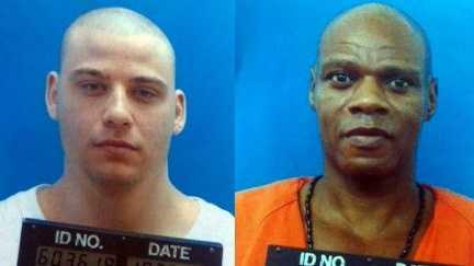Angola escapees Melvin Johnson, Aaron Francois