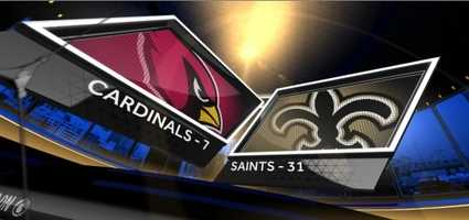 Here are WDSU's Players of the Game from the Saints' lopsided win over the Cardinals.