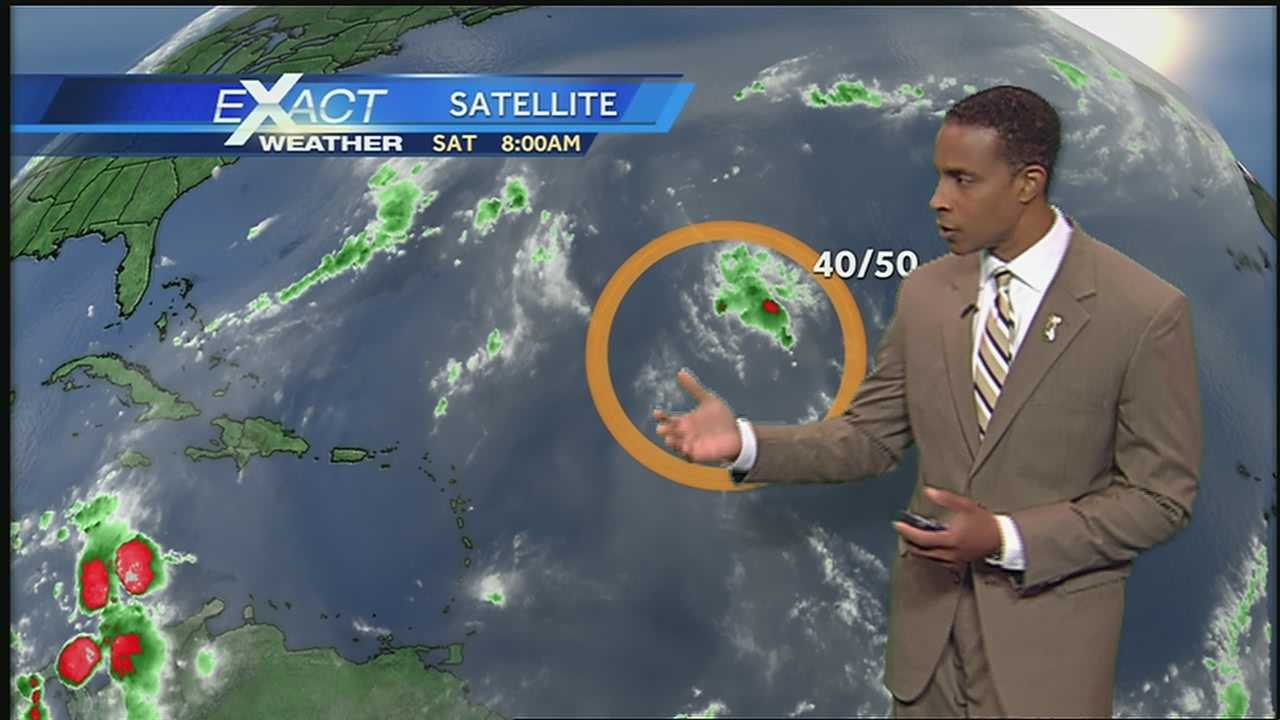 Here's the latest in the tropics from WDSU Exact Weather Meteorologist Damon Singleton