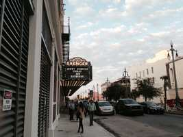 It's been a little over eight years, but the Saenger Theatre is back.