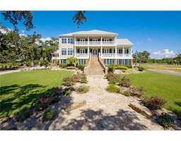 Gardner Realtors shows this waterfront home in Waveland, Miss. which is listed at $2,200,000. For more information contact them by email at info@gardnerrealtors.com or by phone: 800-566-7801.