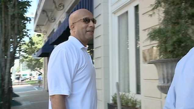 The former New Orleans mayor faces federal corruption charges.