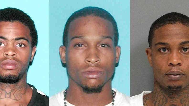 Kevias Hicks (Wanted), Tommie Molette (Arrested), Kevin Hicks (Arrested)