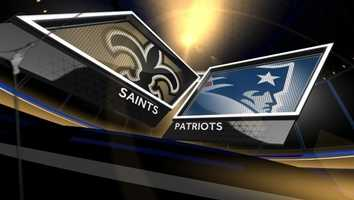 Here's the injury report and list of inactives for the Saints/Patriots game.