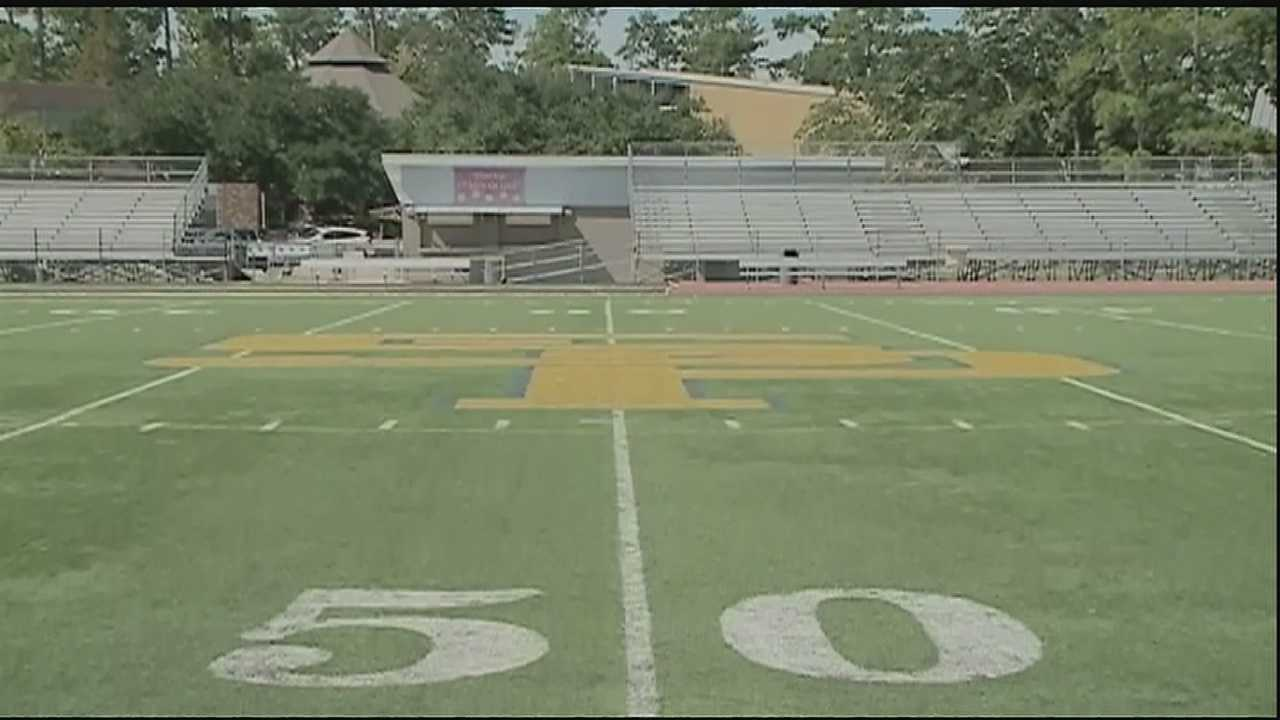 2 officials arrested during high school football game