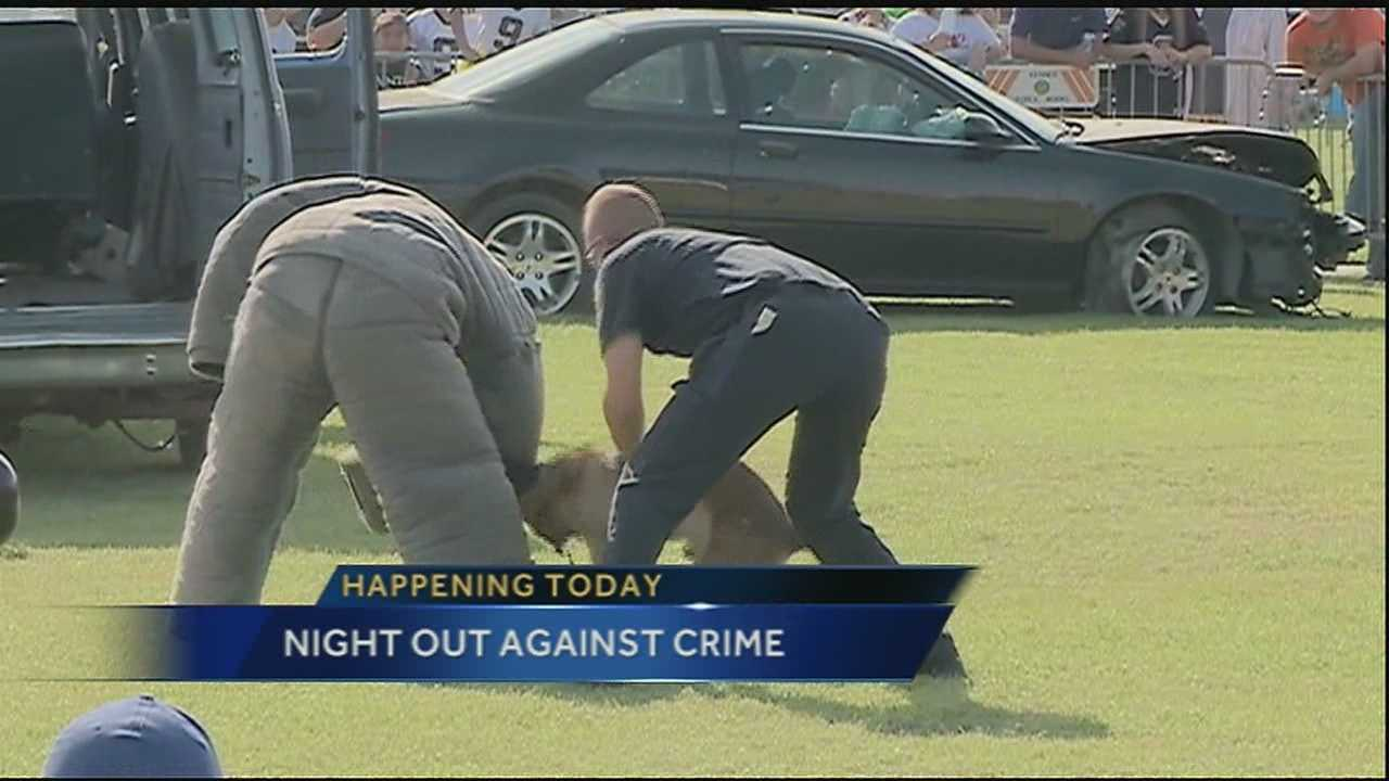 The New Orleans metro area is set to celebrate National Night Out Against Crime with several block parties scheduled.