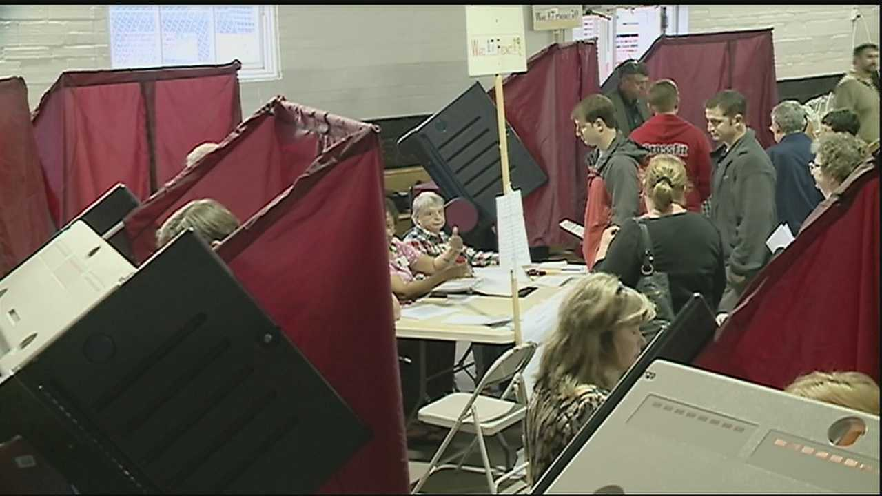 Saturday, voters will head to the polls to cast their ballot on several key issues.