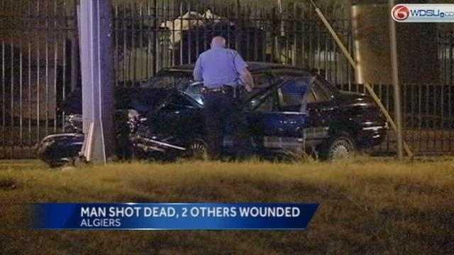 Man dead in Algiers Triple Shooting
