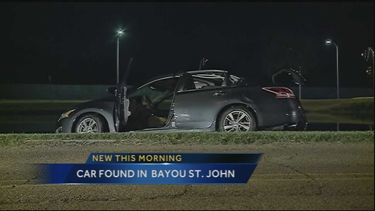 Car pulled from Bayou St. John