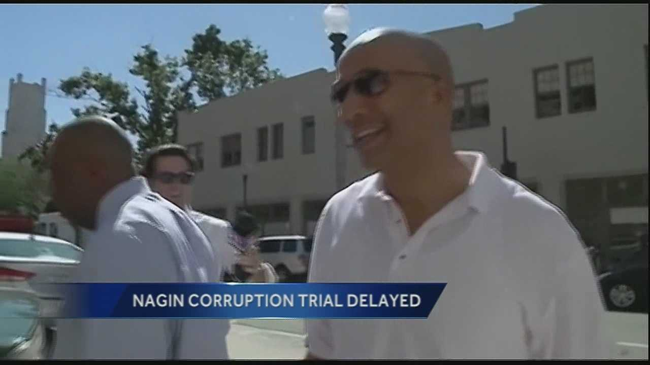 The federal corruption trial of former New Orleans Mayor Ray Nagin has been delayed until next year.