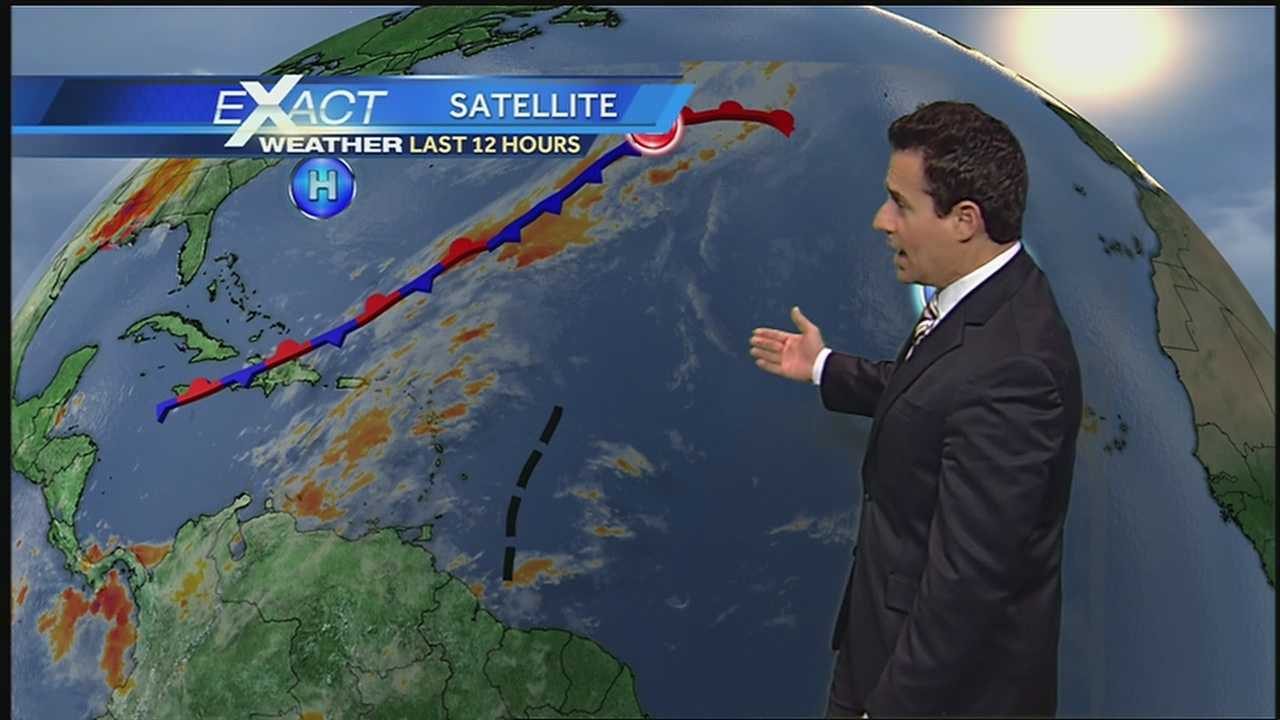 WDSU Exact Weather meteorologist Jay Gallé has the latest on the tropics.