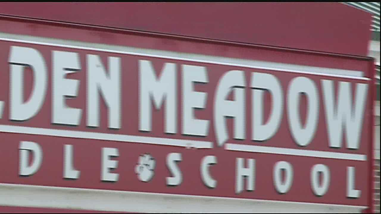 School officials fight a flea infestation at Golden Meadow Middle School.