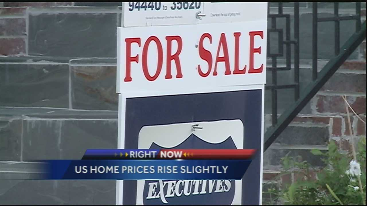 U.S. home prices rise slightly
