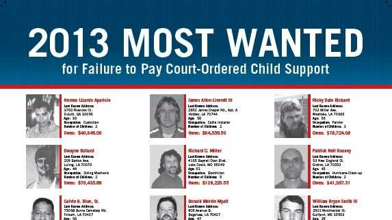 child support poster 2013