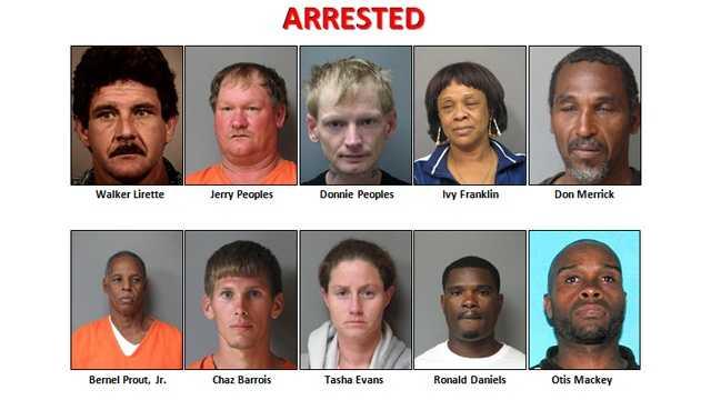 Operation Rotten Pumpkins arrests