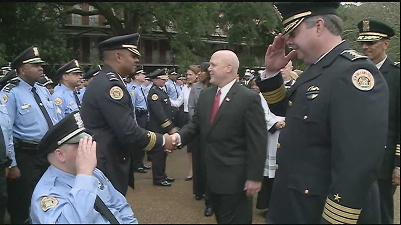 Officials gather to thank, remember injured, fallen officers