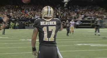 WR Robert MeachemThe deep threat caught only two passes, but they were both big plays for 44 and 34 yards, respectively.