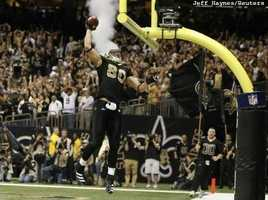 TE Jimmy GrahamIt wasn't your typical Jimmy Graham game. He was quiet for most of it with just one catch in the first 58 minutes. But Graham showed up late with receptions of nine and 12 yards on New Orleans' game-winning drive to set up our next player of the game….