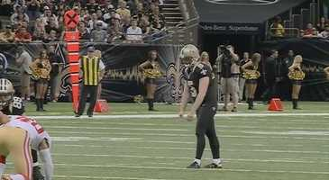 K Garrett HartleyThe much-maligned field goal kicker had to watch as several potential replacements worked out this week. It must have motivated him. Despite entering the game with four misses in his previous six attempts, Hartley made three fourth-quarter field goals to hand New Orleans the victory. Sure, the longest of which was 42 yards, but he came through when he needed to.