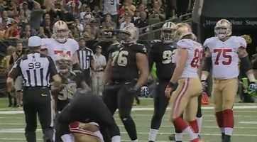 DL Akiem HicksThe big man was one off the team lead with seven tackles, and he made one of three sacks on Colin Kaepernick.