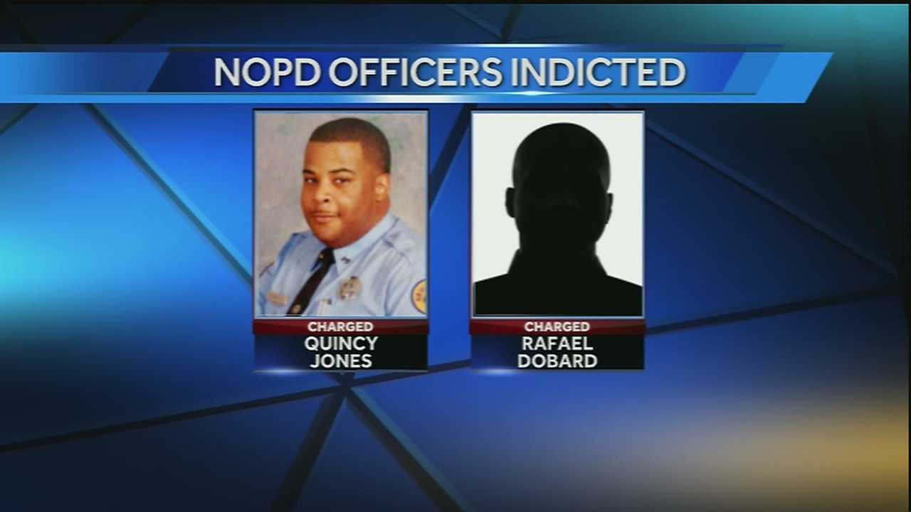 2 NOPD officers indicted on fraud, bribery and conspiracy charges