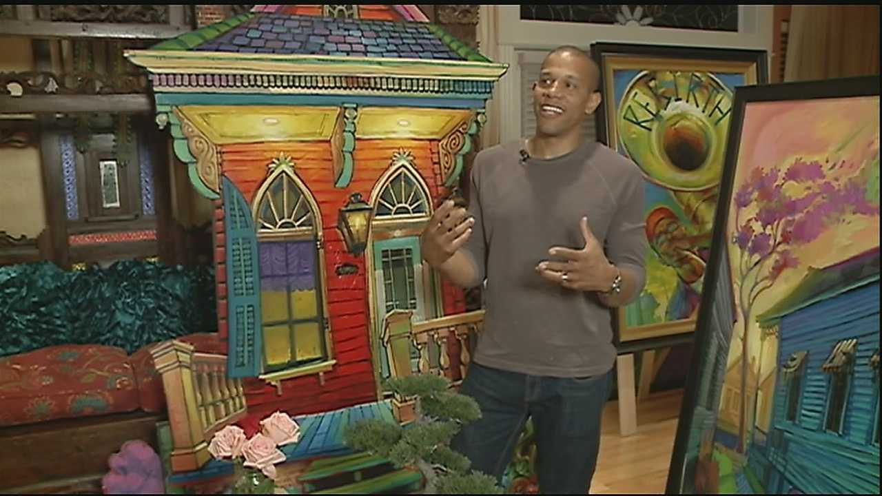 City, people inspire local artist