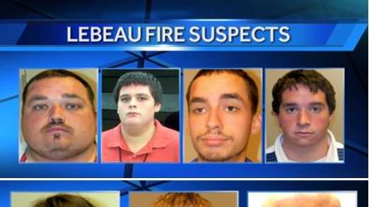 LeBeau Plantation arson suspects