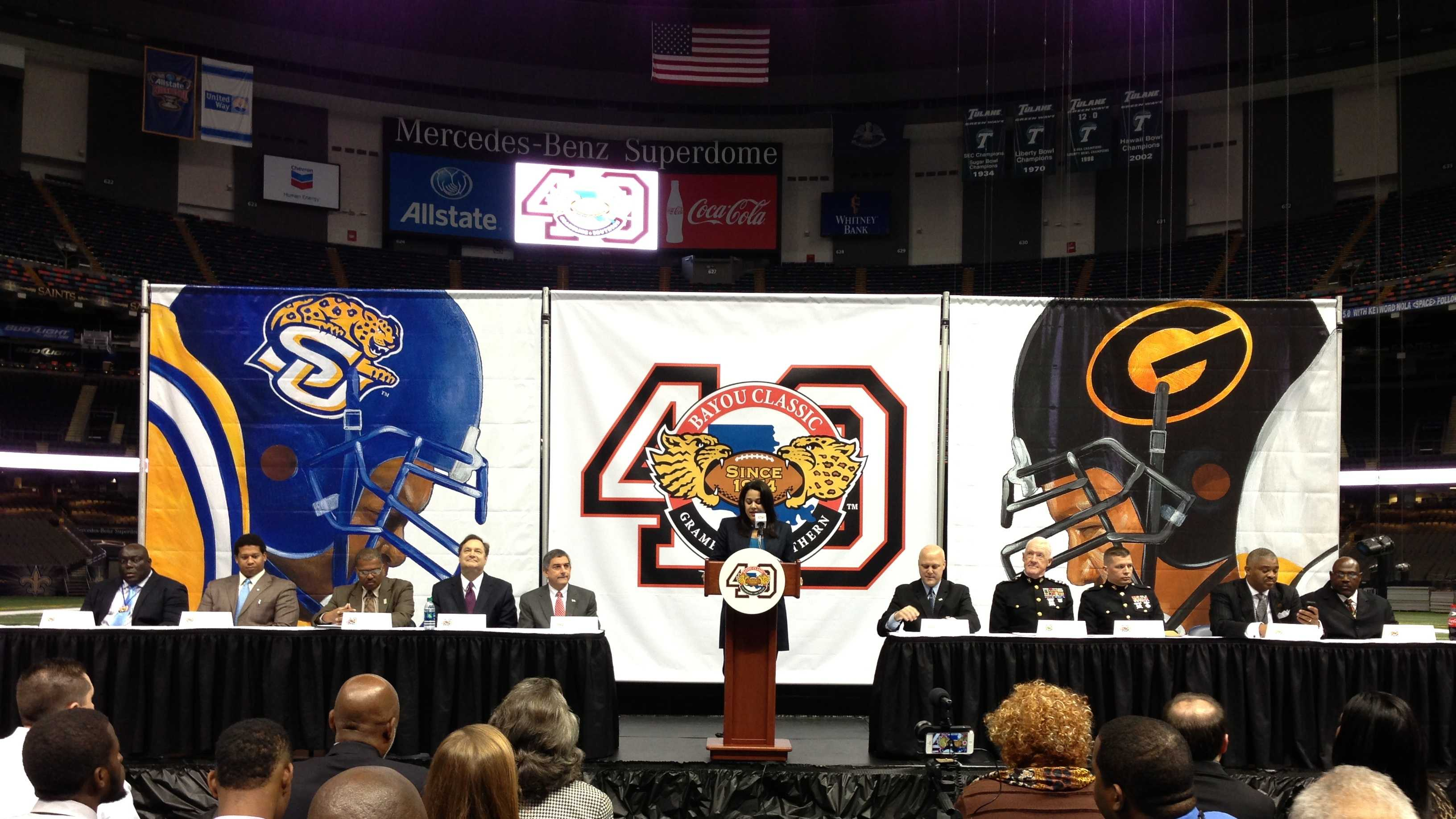 Bayou Classic press conference