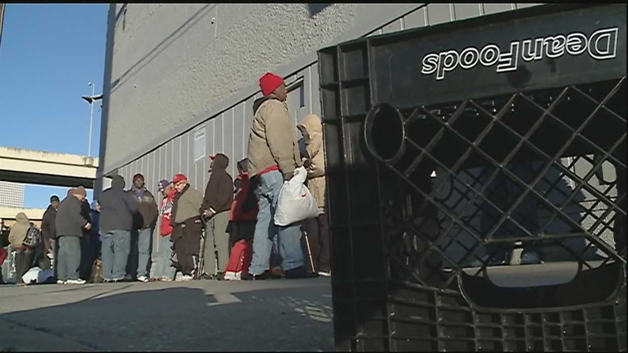 New Orleans city leaders activated its freeze plan to protect the homeless from the drop in temperatures.