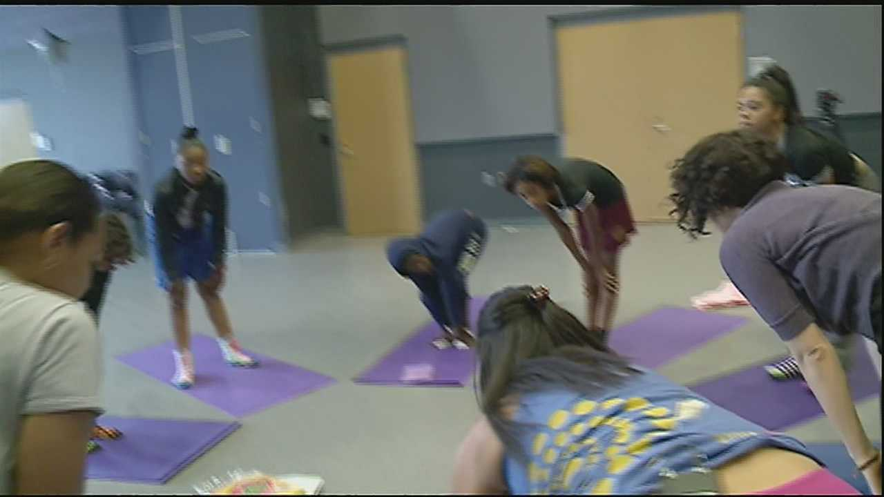 Yoga therapy a stress-reliever for children