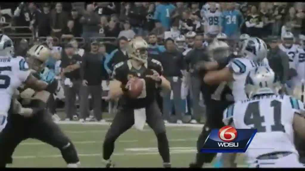 Drew Brees Dec 8 Panthers