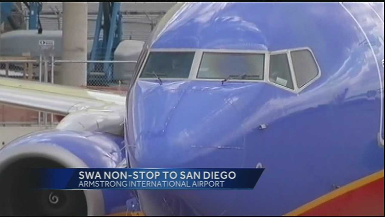 Southwest to offer nonstop flights to San Diego from NO airport