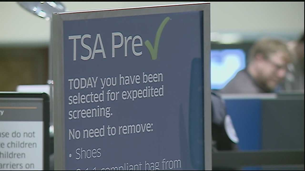 The trip through airport security is becoming a little quicker for some passengers.