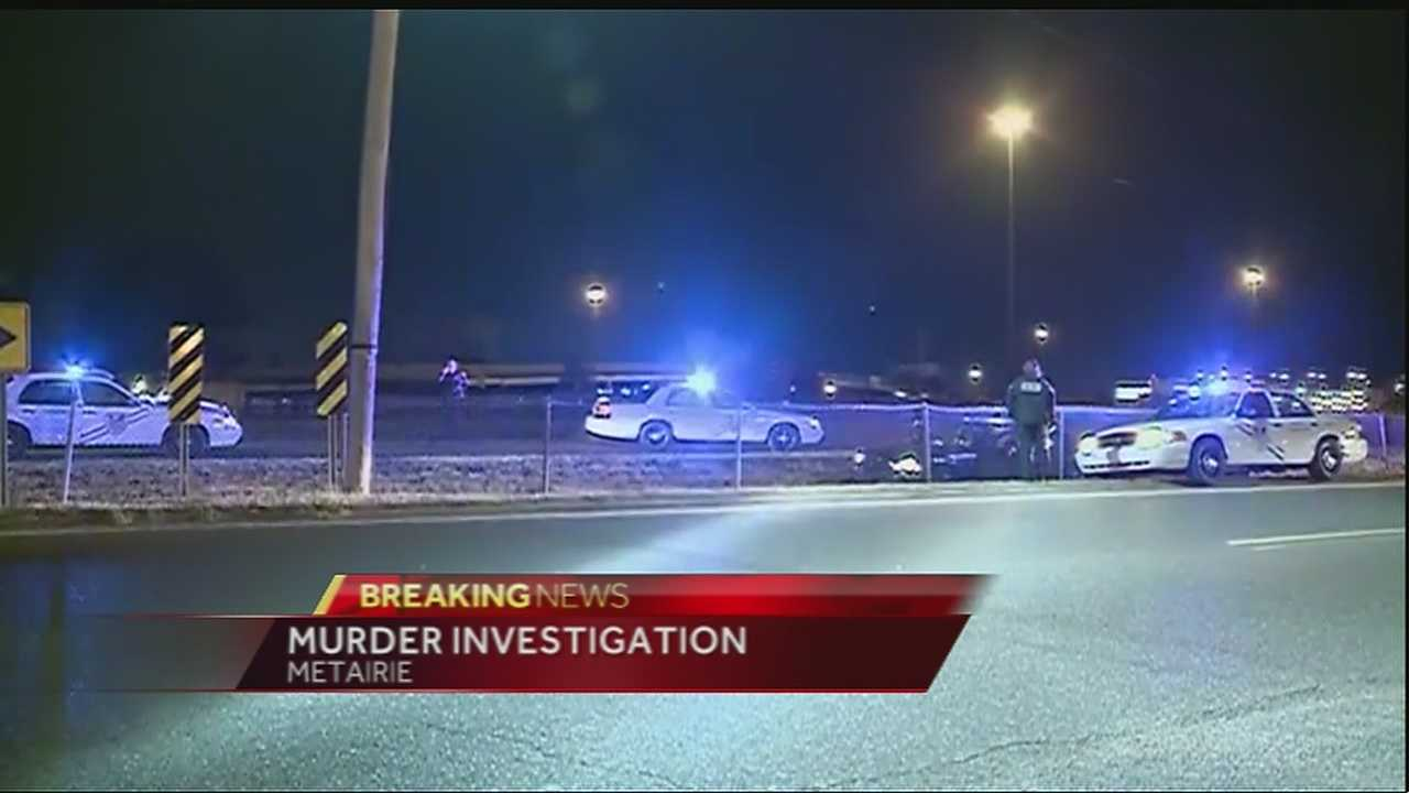 Jefferson Parish deputies are on the scene of a homicide at I-10 and Clearview Parkway.