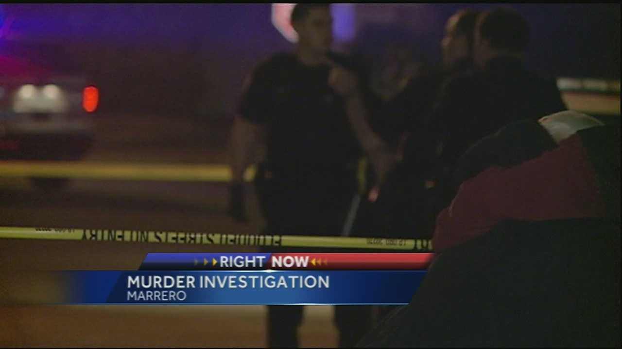 Jefferson Parish deputies are investigating a homicide and possible vehicle theft.