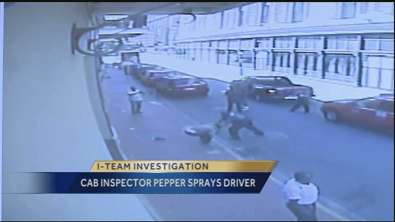 Video of Taxi Cab Bureau inspector using pepper spray, detaining driver draws criticism