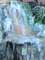 Frozen fountain in Algiers from u local member: ammiewalkbyfaithcelius22