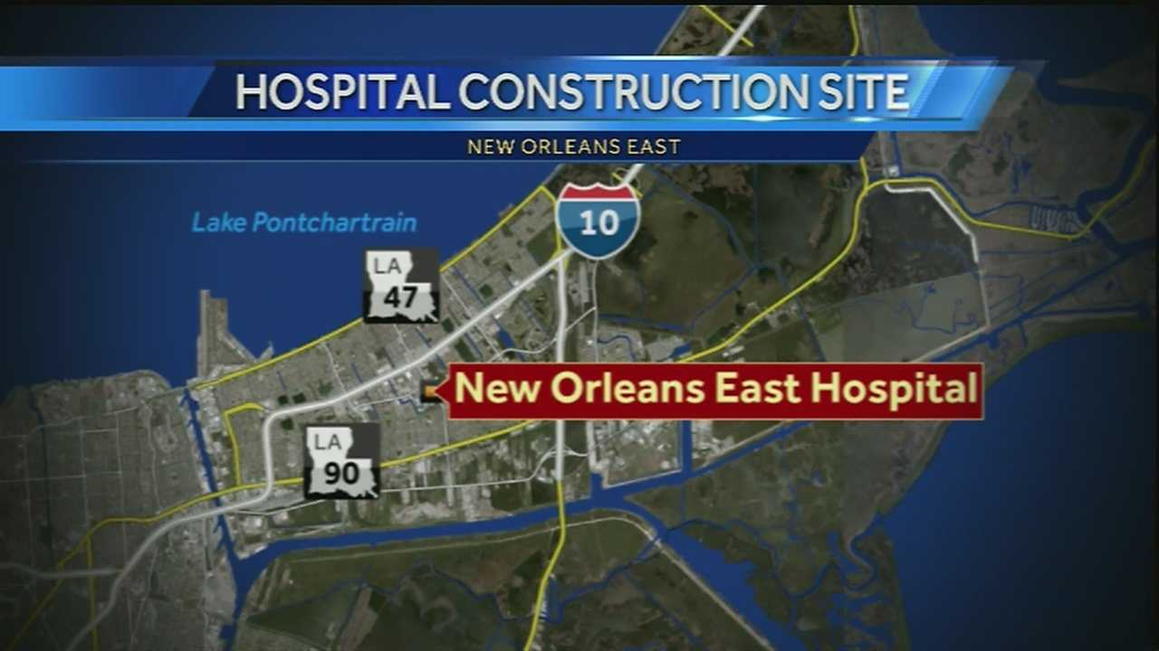 Completion of new hospital in New Orleans East approaching